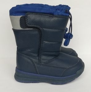 Lands' End Toddler Boy Waterproof Snow Boots Blue